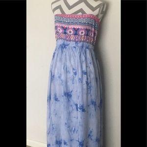 Lucy Diamonds tube top dress